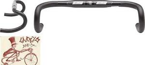 FSA OMEGA COMPACT 42CM---31.8MM ANATOMIC BLACK ROAD DROPBAR BICYCLE HANDLEBAR