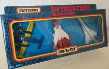 Matchbox Skybusters Jet Aircraft Die Cast Model Set of Three Die Cast Aircraft 2