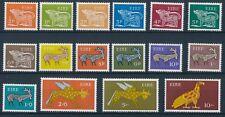 IRELAND/Irland/Eire 1968 Definitive Set of 16v** Michel # 210-225 - SG # 247-262