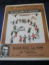 Partizione In pista per la farandole Eugene Sinzewski 17 pezzi Music Sheet