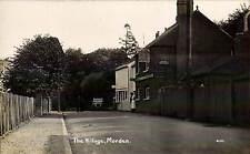 Morden. The Village # 4311. Motor Car & The Plough.