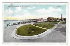 Park & Promenade - Fleetwood Photo Postcard 1905