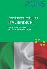 PONS Basiswörterbuch Italienisch, 50 000 Wörter, NEU