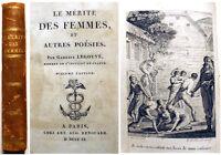 POESIE/LE MERITE DES FEMMES/G.LEGOUVE/1810/GRAVURE EN FRONTISPICE