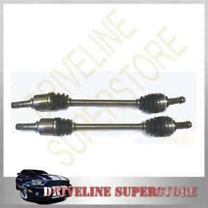 TWO FRONT CV JOINT DRIVE SHAFT for SUBARU FORESTER ALL TYPES YEAR 2004-2007