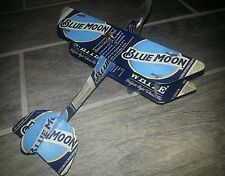 BLUE MOON ALE BEER Can Plane Airplane. Made from REAL Beer cans!