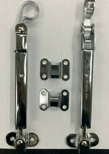 New R Model Mack Hood Latch Chrome Set Latch same as MAK3QM210P2