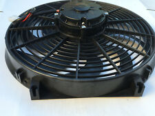 High Performance Black 14 inch Thermo Fan Electric Fan Kit 280watt 12volt F12v