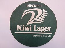 Beer Coaster ~**~ Imported KIWI Lager ~ Brewed for the World ~ See STORE 4 More!
