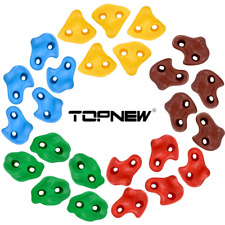 Topnew 25 Rock Climbing Holds for Kids and Adults, Large Rock Wall Grips for In