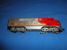 Lionel Postwar #2343 Santa Fe F3 Diesel Locomotive.Powered Unit. Runs Well
