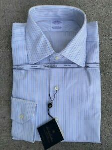 Brooks Brothers Dress Shirt Non Iron Stetch Collection Slim Fit 16-34 NWT