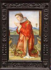 Antique 16th Century Italian Renaissance Style St Stephen Old Master Painting