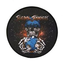 "SUICIDAL TENDENCIES *Official* World Gone Mad 6"" Round Patch"