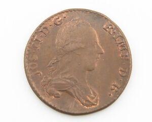 1788-B Austrian Netherlands 2 Lairds 2 Oorden UNC Brussels Uncirculated KM#31