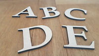 Wooden Medite Premium MDF Letters 6mm Thick, Wall Mounted, Crafts, Plaque,