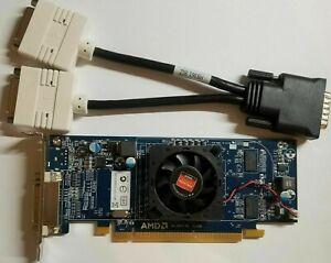 DELL Windows 10 DUAL MONITOR DVI Video Graphics Card AMD HD Radeon 5450 SFF HP
