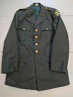 US Army/Military Wool Jacket 41R Green 1969 Vietnam Coat Dress Blue Uniform