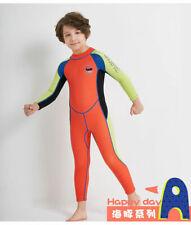 2.5MM Long Sleeve Diving swimwear one-piece Wetsuit Swim Surfing Suit Kids/Boys