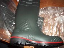 Dunlop Acifort HD GREEN / RED/ BLACK Safety Wellies wellington boots UK 10 EUR44