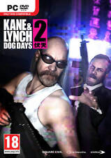 Kane & and Lynch 2 Dog Days Game PC Brand New