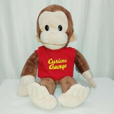 "Gotta Getta Gund Curious George 16"" Plush Monkey Stuffed Animal Universal Studio"