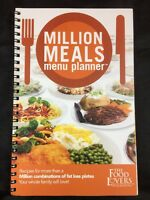 "The Food Lovers Fat Loss System ""Million Meals Menu Planner "" Recipes Book 92 pg"