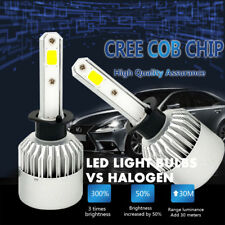 1Pair H1 1500W 225000LM CREE LED Headlight Kit High or Low Beam Bulb Xenon 6000K