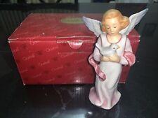 Goebel Archival Collection Winter Angel Holding Bird