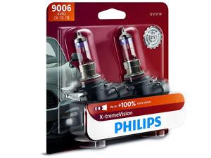 2x NEW PHILIPS XTREME VISION 100% HB4 9006XVB2 HEADLIGHT DRIVING LIGHT BULBS