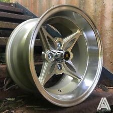 "Autostar 14"" x 8"" Kanji 4x100 et-5 alloy fit Mazda Mx5 Civic Vw Polo Golf Single"