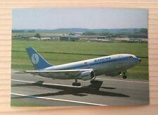 Sabena Belgian Airlines SN Airbus 310 A310 Jet Postcard Postkarte TOP!
