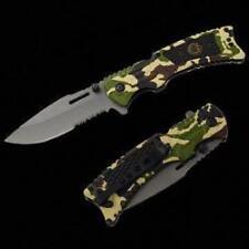 MAGNUM Make - Lt Camouflage Color Folding Camping Knife - H1086