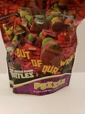 EUC TEENAGE MUTANT NINJA TURTLES  PUZZLE ON THE GO! RESEALABLE BAG 48 PIECES