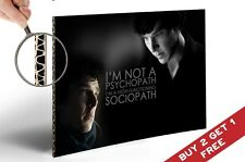 SHERLOCK HOLMES Benedict Cumberbatch Quote A4 Size Poster Legend TV Series