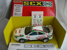 SCALEXTRIC MATCHBOX 83820.20 TOYOTA CELICA GT CASTROL MADE IN SPAIN