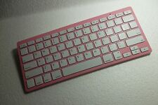 RockSoul Slim Wireless Bluetooth Keyboard for Apple iMac iPadAndroid BK-101001PW