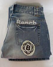 "Bench Ladies Denim Jeans Waist- 26"" Length-Short (29"")"