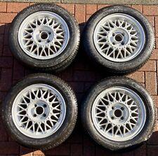 Rare Genuine BBS RJ358 Vw Golf Mk2 Gti Alloy Wheels And Dunlop Tyres KBA41175.