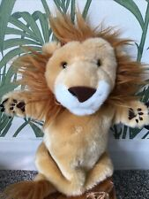 LION Plush hand Glove Puppet By The Puppet Company Storytelling EYFS 10 Inches