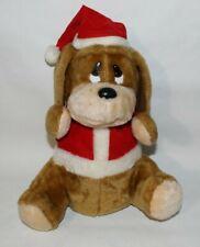 "12"" Flappy Ears Christmas Carol Animated Plush Puppy Hound Dog Singing"