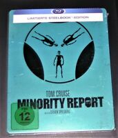 Minority Report Tom Cruise Limitada steelbook Con Innendruck blu ray Nuevo & Ov