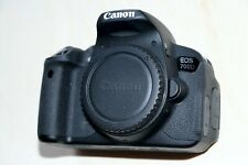 Canon EOS 700D 18.0MP DSLR Camera BODY 2950 click Shutter with 3 batteries