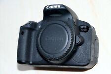 Canon EOS 700D 18.0MP DSLR Camera BODY 2950 clicks 3 batteries, no LENS