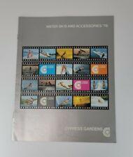1978 Cypress Gardens Water Ski Brochure - Cypress Gardens Florida