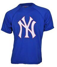 Majestic ATHLETIC NY Da Uomo T-shirt New York Yankees-XL