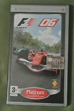 PSP – F1 06 Platinum