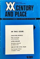 XX CENTURY & PEACE Magazine  Published by THE SOVIET PEACE COMMITTEE · SEPT 1989