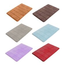 Memory Foam Soft Bathroom Bedroom Bath Mat Floor Rug Carpet Non Slip