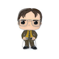 Funko The Office POP Pin Dwight Schrute Pin NEW IN STOCK
